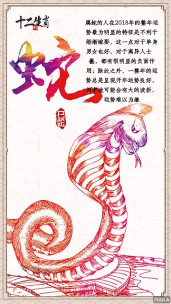 小时代neil拿蛇的海报