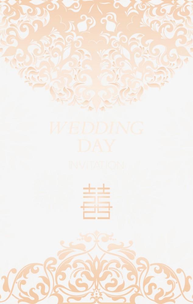 高端浪漫婚礼邀请函文艺清新婚宴喜帖唯美时尚婚纱喜宴请柬婚纱写真