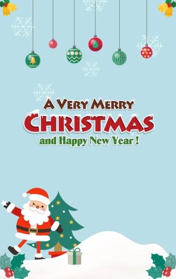 圣诞节祝贺卡